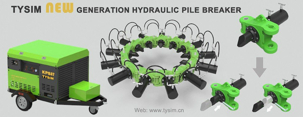 China best Hydraulic Pile Breaker on sales