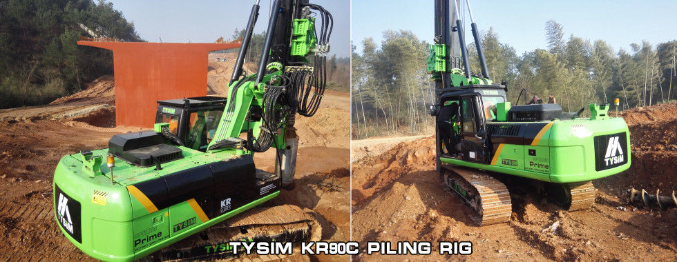 China best Piling Rig Machine on sales