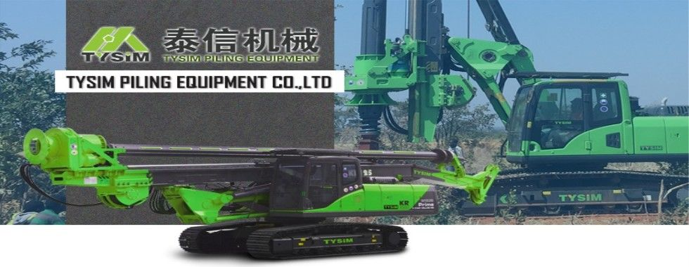 China best Hydraulic Piling Rig on sales