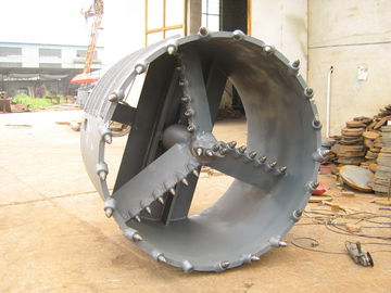 China Drilling Augers Buckets Foundation Drilling Tools Three Wing Core Barrel for Rock Drilling Equipment supplier