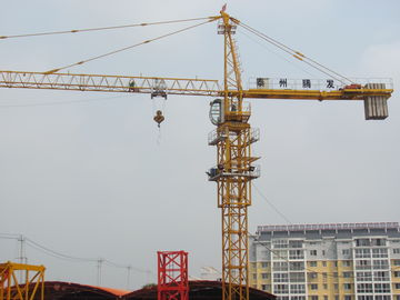 China 5 - 35 m/min Hoisting Speed Small Tower Cranes For Construction CE / ISO9001 supplier