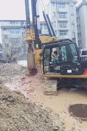 China Piledriver Construction Hydraulic Piling Machine , 24m Pile Driver Equipment Foundation KR60C supplier