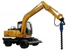 China Excavator Hydraulic Earth Auger Hole Drilling With Two Piece Shaft Design KA6000 supplier