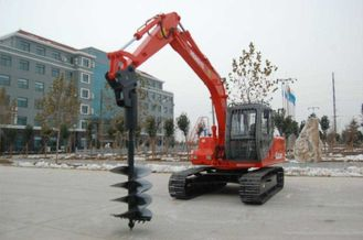 China 20-46 Rpm Rotate Speed Hydraulic Hole Digger Construction Machinery 2570-6917 Nm Torque supplier