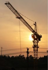 China Safety Heavy Lift Construction Tower Cranes For Building Construction Projects supplier