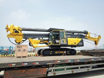 China 37m / 45m Drilling Depth Piling Rig Machine , Foundation Drill Rigs 34T Overall Weight supplier
