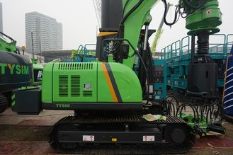 China 7 - 40 rpm Borehole Drilling Machine 30 m / min Main winch line speed KR50A Rotary Piling Rig supplier