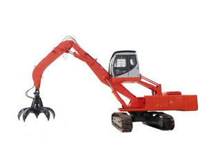 China Large 32 Ton WZY32-7 Hydaulic Material Handler Excavator CUMMINS B5.9-C Engine supplier