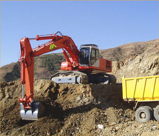 China Large 250KW 6000V Hydraulic Excavator With Diesel Engine / Electric Power supplier