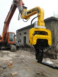 China High Frequency Hydraulic Vibratory Pile Hammer Excavator Mounted Pile Driver supplier