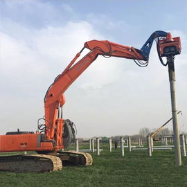 China Precision Vibratory Pile Hammer Excavator Hydraulic Pile Driver 3000rpm Piling Equipment supplier