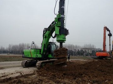 China 50 KN.M Max Torque KR50A Micro Rotary Piling Rig for 24m Piling Bored Hole Equipment supplier