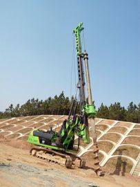 China 125 KN.M Max Torque KR125A Rotary Driling Rig for 37m Interlocking Kelly Bar Bored Piles Machine supplier