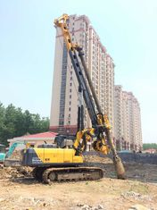 China TYSIM KR80A Hydraulic Rotary Bored Piling Rig Machine With 80 KN.M Max Torque Bored Hole Pile Machine supplier