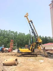 China Max Crowd Pressure 90 KN KR80A Hydraulic Rotary Piling Rig With 28m Max Drilling Depth Borehole Pile Equipment supplier