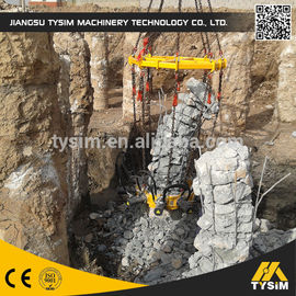 China Cutting diameter 1050mm concrete Hydraulic Pile Breaker machine KP315A excavator tooling round pile cutter supplier