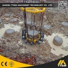 China Advanced Hydraulic Pile Breaker / Cutter , Pile Breaking Machine For Round Concret Piles supplier