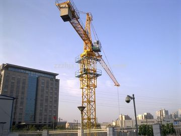 China Small Stationary Construction Tower Crane For Building Construction Projects supplier