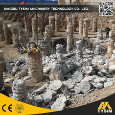 China KP315A Concrete Pile Machine , Excavator Tooling Round Concrete Pile Cutter Cutting Diameter 1050mm supplier