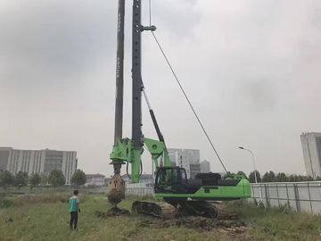 China KR 280 Max torque Hydraulic Piling Rig 280 kN 80 m depth Pile Driving Rigs supplier