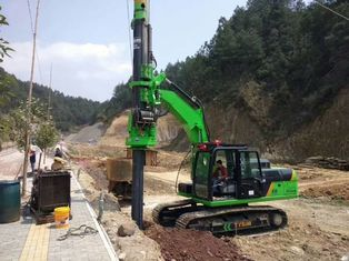 China Pile drilling rig for Village Construction , Speed rotation 7 ~ 40 rpm supplier