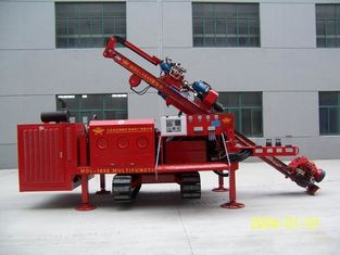 China Three Head Clamping Crawler Core Drill Rig Machine Simple Operation supplier