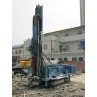 China 140m - 180m Water Drilling Machine Holding Shackle Three Head Variable Hydraulic System supplier
