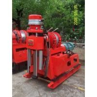 China Small Hydraulic chuck Core Drilling Equipment Mechanical drive Quarry Core Drill Rig supplier