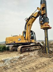China Rotary Drilling Equipment / Rotary Piling Rig Modules Type Black and Yellow supplier