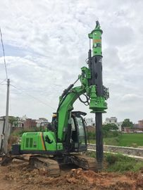 China Pile Drilling Machine / Rotary Piling Rig for Construction Stratum Bored Max Torque 40KN.m supplier