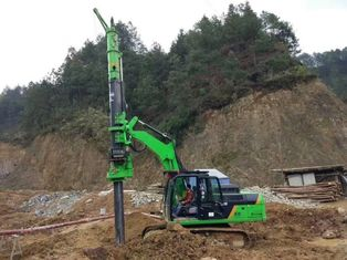 China Small Rotary Piling Rig for Concrete Piles , Piling Driver Equipment Max Torque 50kN.m supplier