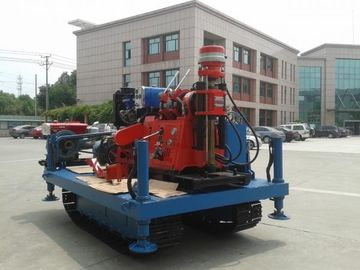 China Spindle Rotary Crawler Drilling Rig Max Torque 2760 N.m , Mobile Drilling Rig supplier
