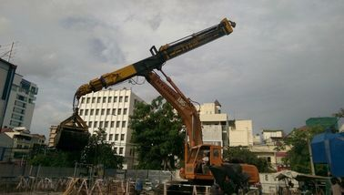 China construction machine parts / Foundation Drilling Tools Excavator Telescopic Boom Arm supplier