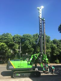 China Small Hydraulic Piling Rig Machine Rotation Speed 8 ~ 30 rpm Borehole Piling Equipment supplier