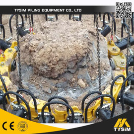 China Excavator Tooling Round Concrete Pile Breaker , Cutting Diameter 1050mm KP315A supplier
