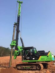 China High Efficiency Rotary Piling Rig , 2.8 km/h Travel Speed Pile Driving Machinery supplier
