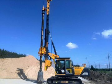 China Borehole Pile Rig Equipment Total Weight 24 Ton , Max Drilling Diameter 1m supplier