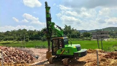 China KR40A High Security Green Hydraulic Piling Rig 12m depth and 1200mm diameter supplier