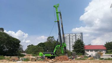 China Construction Foundation Piling Rig Machine , Bored Hole Machinery Max Torque 285kN.m supplier