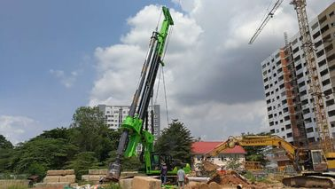 China TYSIM KR285C Rotary Hydraulic Piling Rig Machine , Max Diameter 2500m supplier
