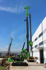 China KR125A Rotary Piling Rig Marine Piling Machine With 37m Depth Interlocking Kelly Bar supplier