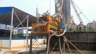 China Professional Solid Control System Mud Desander RMT150 For Bored Piles Construction supplier