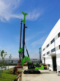 China KR220C Small Pile Driving Equipment , Bored Pile Equipment Max Depth 64m supplier