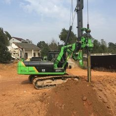 China Borehole Drilling Hydraulic Piling Rig Machine Max Drilling Diameter 1000mm Depth 22m supplier