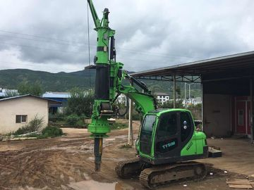 China KR50A Green Hydraulic Piling Rig Machine , Bored Hole Pile Driver Machine supplier