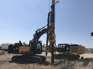 China KR50A Micro Rotary Piling Rig Depth 24m Piling Bored Hole Equipment supplier