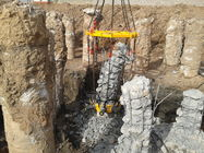 Hydraulic Pile Breaker For Round Concrete Pile Cutting Machine 600 - 1800mm Pile Diameter TYSIM KP380A