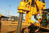 Hydraulic Rotary Drilling Rig With Caterpilar Chassis For Road Construction TYSIM KR125C