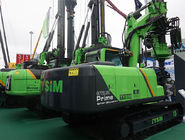 China Hydraulic Piling Rig Machine Hire , 65 KN Main Winch Line Pull Pile Driver Equipment company