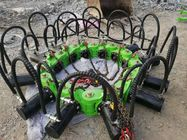 Round Or Square Concrete Hydraulic Pile Cutter With Green Or Yellow Color